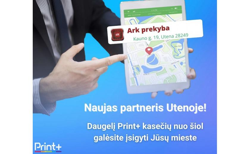 Nauji partneriai Utenoje!