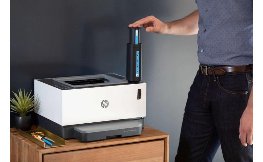 HP Neverstop spausdintuvai be kasečių!